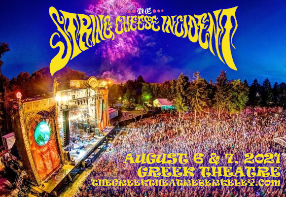 String Cheese Incident at Greek Theatre Berkeley